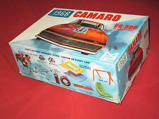 Plastic Model JUNKYARD 1968 MPC Camaro SS 396 Box, Instructions and Misc Parts.