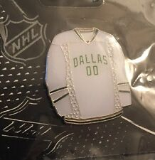 NHL Dallas Stars White Jersey Pin, Badge, Lapel, New In Package