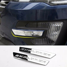 Ford Explorer chrome strip decorative trims for zone of front fog lights