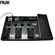 NUX MFX-10 Modeling Guitar Processor Guitar Pedal Drum Recorder Multi-function