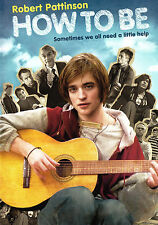 How to Be (DVD 2009) starring Twilight's Robert Pattinson indie character comedy