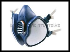 3 x 3M 4255 Vapour Gas Particulate Respirator Face Masks Breathing Apparatus