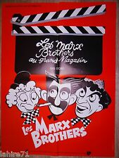 LES MARX BROTHERS AU GRAND MAGASIN big store  ! affiche cinema