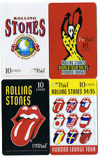 Rolling Stones USA 1994/95 Voodoo Lounge Tour 4 Pre Paid 10 unit card.