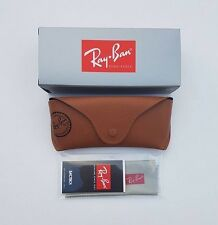 Ray Ban Brown Sunglasses Case