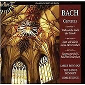 Cantatas 54, 169 and 170 (King, the King's Consort) CD NEW