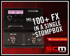BRAND NEW LINE 6 M5 STOMPBOX MODELER GUITAR FX PEDAL FREE SHIPPING