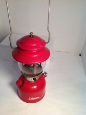 Vintage Red Coleman Camping Lantern No. 200A 1963 Very Good Condition