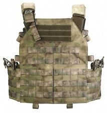 "VEST ARMORED SYSTEM ""PLATE CARRIER"" in A-TACS FG by ""Stich Profi"""