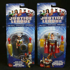 Silver Storm HAWKGIRL & SUPERMAN -2 Justice League Figures Weapons DC COMICS NEW