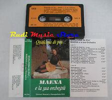 MC MAENA E LA SUA ORCHESTRA Qualcosa di piu' 1 stampa italy DES cd lp dvd vhs