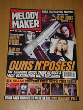 MELODY MAKER 2000 NOV 22 GUNS N ROSES MARILYN MANSON