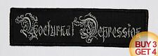 NOCTURNAL DEPRESSION GY PATCH BUY3GET4,XASTHUR,STERBEND,SILENCER,LIFELOVER,DSBM