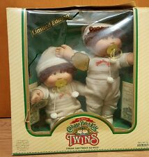 1984 cabbage patch twins boys limited edition