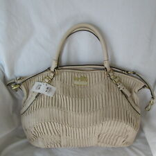 NWT Coach Madison Gathered Leather Large Sophia Satchel Handbag 15947-Bone $598