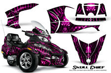 CAN-AM BRP SPYDER RT RT-S GRAPHICS KIT CREATORX DECALS SCP