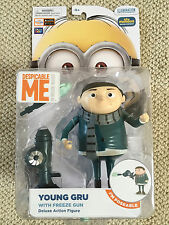"""New! 6"""" YOUNG GRU DELUXE Action Figure Toy DESPICABLE ME movie MINION MADE"""