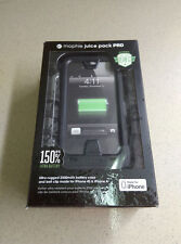 New In Box Mophie Juice Pack PRO Battery Case For iPhone 4s/4 - 2,500mAh - Black