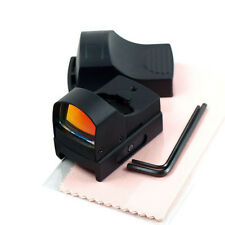 Mini Holographic Reflex Micro Red Dot Sight Tactical Compact Scope w/ 20mm Rail