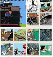 EO HERGE + TINTIN :CALENDRIER POUR 2012 ( NEUF SOUS BLISTER )