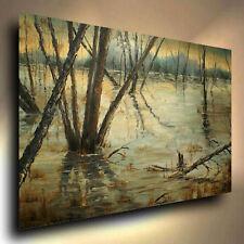 Landscape Oil Painting  Michael A.Lang certified Original 1974