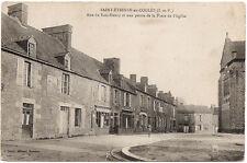 St ETIENNE en COGLES (35) - Rue du Bois-Henry et Place de l'Eglise