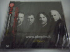 SEALED NEW P.F.M.-Live www.pfnpfm.it(il Best) JAPAN 1st.Press Promo w/OBI 2CD