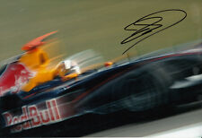 David Coulthard Hand Signed Red Bull Racing Photo 12x8 1.