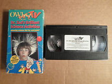 Tested ! Owl TV VHS Dr Zeds Brilliant Science Activities Vol 1 Children Learning