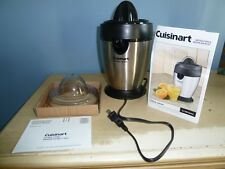 CUISINART CITRUS JUICER BRUSHED STAINLESS SERIES CJ-200PC WITH ORIGINAL BOX