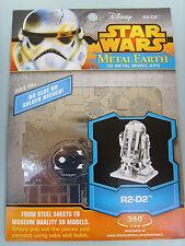 STAR WARS METAL EARTH 3D METAL MODEL KIT R2-D2 NEW