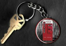 Coca-Cola Machine COKE Keychain Key Chain