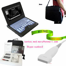Portable Laptop  Notebook Ultrasound machine Scanner system Digital Linear PROBE