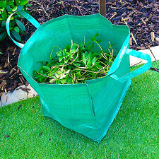 Heavy Duty Garden Bag Waste Refuse Rubbish Grass Sack Reusable Strong Large Sack