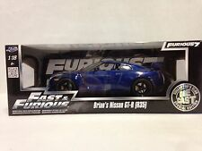 Fast Furious Brian's Nissan GT-R(R35), Special Edition 1:18 Diecast Jada Toys BL