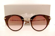 New Silhouette Sunglasses Felder Felder 9907 6053 Brown/Gold For Women