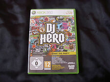 DJ Hero for xbox 360 game
