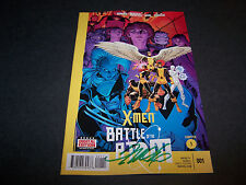 SIGNED FRANK CHO X-MEN BATTLE OF THE ATOM #1 1ST PRINT UNCANNY ALL NEW CROSSOVER