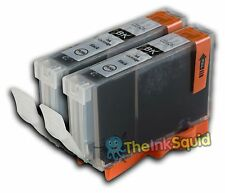 2 CLI-526bk Black Ink Cartridges for Canon Pixma MG6150