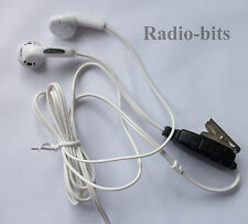 Covert MP3 Style Earpiece Microphone  Motorola Police MTH Security MTH800 MTP850