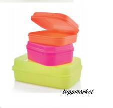 TUPPERWARE Universal Storage Box 550ml + 1.1l + 2.5L Special Offer