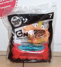 2007 MCDONALDS HAPPY MEAL TOY CARTOON NEWORK CAMP LAZLO #7 RAJS CRACKED UP CANOE