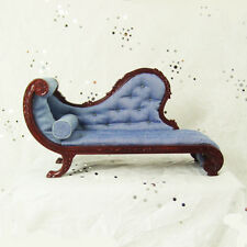 Hansson mahogany chaise longue miniature dollhouse high quality