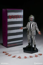 "2016 Sideshow Toys Beetlejuice Sixth Scale Figure Hot 12"" Inch 1/6 MIB  #100295"