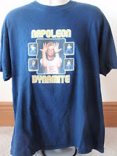 2005 Napoleon Dynamite Dark Blue T-Shirt Vote For Pedro Sz XL All Cotton Movie