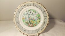 "Royal Albert Silver Birch 7"" Dessert Plate In Excellent Condition"
