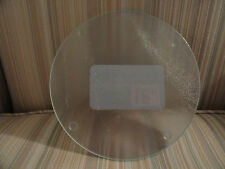 Kitchen Cutting/Serving Board Clear Tempered Glass Round By Cooking Concepts