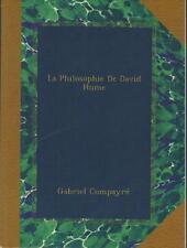 La Philosophie de David Hume - Gabriel Compayré
