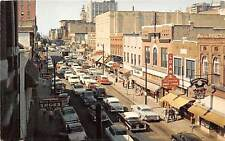 MEMPHIS, TN ~ BEALE STREET, CARS ~ 1950s ~ Social & Economic Center for Blacks
