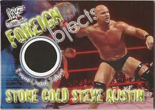 "WWF Wrestlemania - Foreign Objects ""Stone Cold Steve Austin"" Event Used Card"